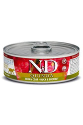 Farmina N&D Skin & Coat Quinoa & Duck Canned Cat Food