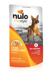 Nulo Freestyle Chicken & Salmon Dog Food Pouch