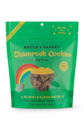 Bocce's Shamrock Cookies Soft and Chewy Dog Treats