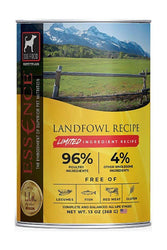Essence Limited Ingredient Recipe Landfowl turkey wet Dog Food