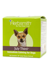 Herbsmith July Third Soft Chews for Large Dogs