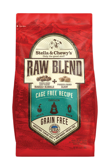 Stella & Chewy's Raw Blend Cage-Free Recipe Dog Food