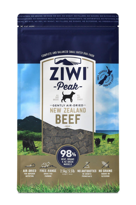 Ziwi Peak Air Dried Beef Dog Food