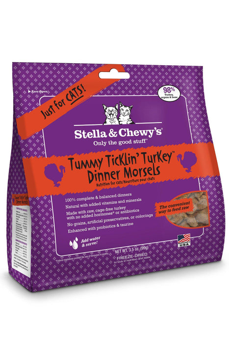 Stella & Chewy's Turkey Freeze Dried Cat Food