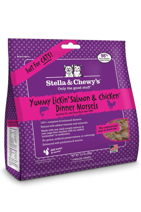 Stella & Chewy's Salmon & Chicken Freeze Dried Cat Food