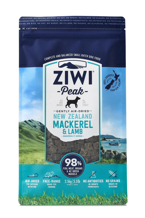 Ziwi Peak Air Dried Mackerel & Lamb Dog Food