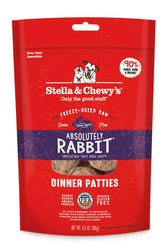 Stella & Chewy's Rabbit Freeze Dried Dinner Patties