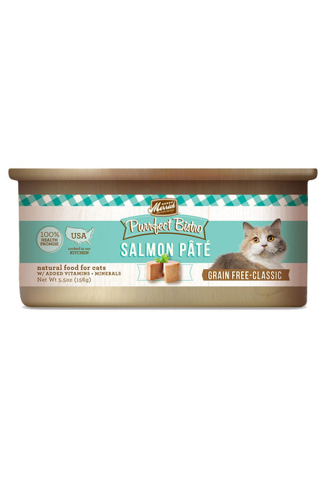 Merrick Purrfect Bistro Salmon Pate Canned Cat Food