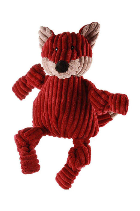 HuggleHounds Fox Knottie Plush Dog Toy