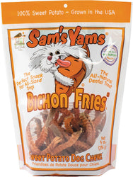 "Sam's Yams Bichon ""Fries"" Sweet Potato Dog Chewz"