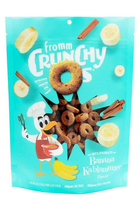Fromm Crunchy O's Banana Kablammas Dog Treats