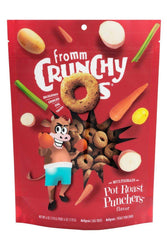 Fromm Crunchy O's Pot Roast Punchers Dog Treats
