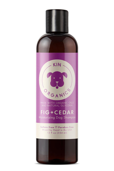 Kin + Kind Organics Fig Cedar Moisturizing Dog Shampoo