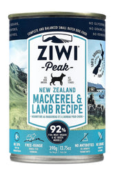 Ziwi Peak Mackerel & Lamb Recipe Canned Dog Food