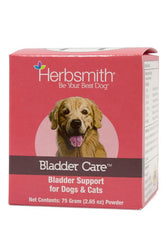 Herbsmith Bladder Care Bladder Support Powder Supplement for Dogs and Cats
