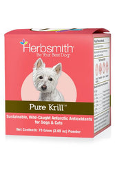 Herbsmith Pure Krill Powder Supplement for Dogs & Cats