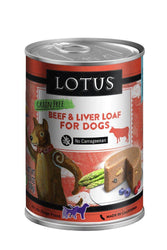 Lotus Beef Loaf Can Dog Food