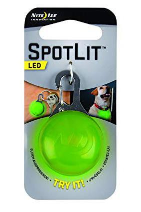 Nite Ize Spotlit LED Collar Light, Lime