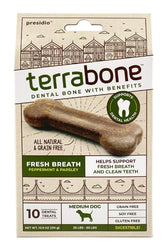 Terrabone Fresh Breath Dental Chews, Medium
