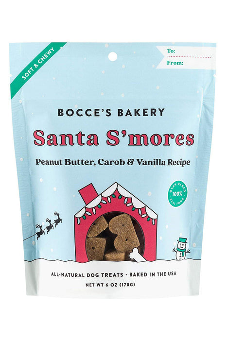 Bocce's Bakery Santa S'mores Dog Biscuits