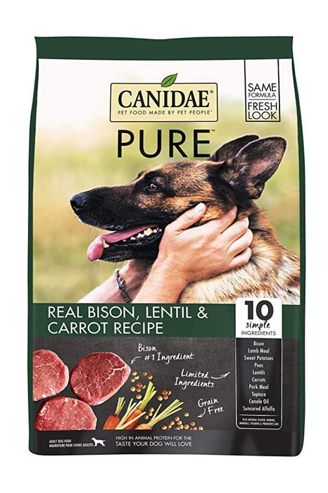 Canidae PURE Land With Bison Adult Dry Dog Food
