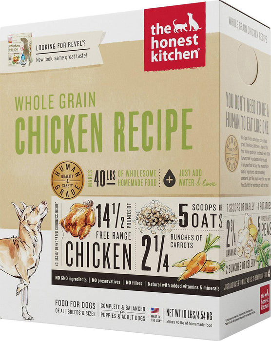Honest Kitchen Whole Grain Chicken Dehydrated Dog Food