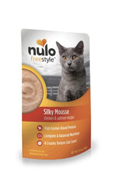 Nulo Freestyle Silky Mousse Chicken & Salmon Cat Food Pouch