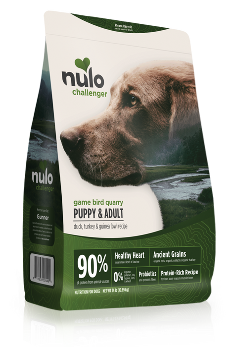 Nulo Challenger Game Bird Quarry Puppy and Adult Dog Food
