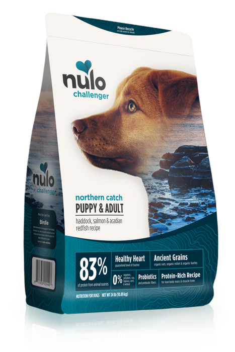 Nulo Challenger Northern Catch Puppy and Adult Dog Food