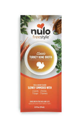 Nulo Freestyle Turkey Bone Broth Topper For Pets