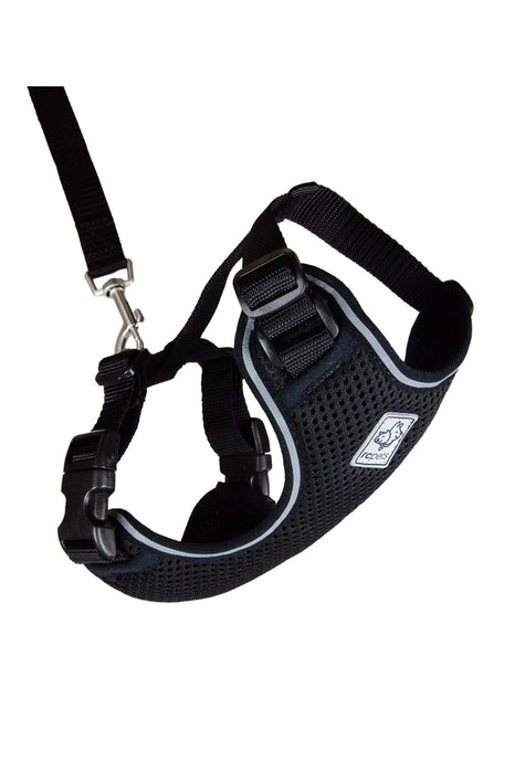 RC Pets Adventure Black Kitty Harness