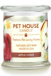 Pet House Candle Apple Cider, 8.5 oz