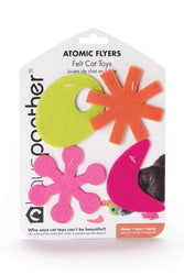 Hauspanther Atomic Flyers Zest Cat Toy