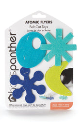 Hauspanther Atomic Flyers Ocean Cat Toy