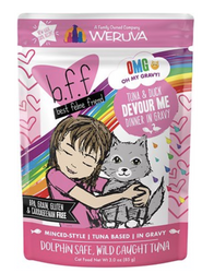 B.F.F. Tuna & Duck Devour Me Cat Food Pouch