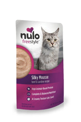 Nulo Freestyle Silky Mousse Beef & Sardine Cat Food Pouch