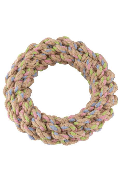 Beco Hemp Rope Ring Dog Toy