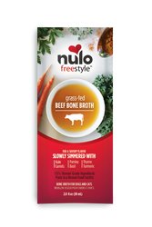 Nulo Freestyle Beef Bone Broth Topper for Pets