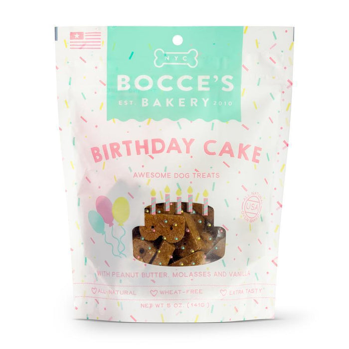 Bocce's Bakery Basics Birthday Cake Dog Biscuits