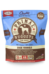 Primal Duck Frozen Raw Dog Food