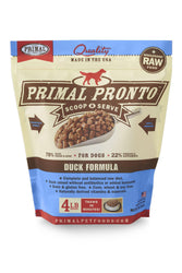 Primal Pronto Duck Frozen Raw Dog Food