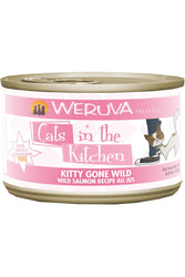 Cats In The Kitchen Kitty Gone Wild Salmon Canned Cat Food