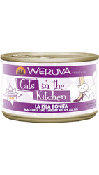 Cats in the Kitchen La Isla Bonita Mackerel & Shrimp Canned Cat Food