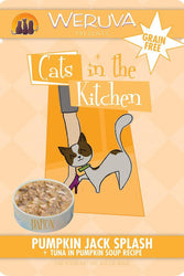 Cats in the Kitchen Pumpkin Jack Splash Tuna Cat Food Pouch