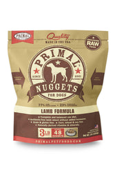 Primal Lamb Frozen Raw Dog Food