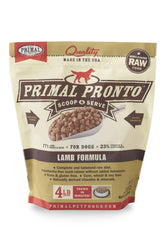 Primal Pronto Lamb Frozen Raw Dog Food