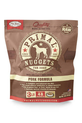 Primal Pork Frozen Raw Dog Food