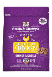 Stella and Chewy's Chick Chick Chicken Frozen Raw Cat Food