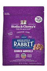 Stella and Chewy's Absolutely Rabbit Frozen Raw Cat Food