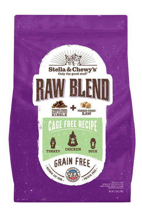 Stella and Chewy's Raw Blend Cage-Free Recipe Dry Cat Food